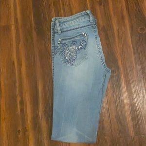 Rock 47 Wrangler Boot Cut Jeans